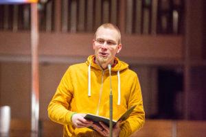 Clemens Kascholke SJ, geboren 1988, seit 2011 Jesuit.